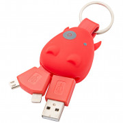 Munkees USB Klíčenka Smart Charger