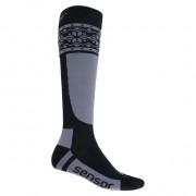 Ponožky Sensor Thermosnow Norway černá/šedá
