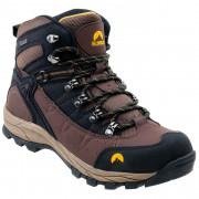 Pánské boty Elbrus Talon Mid WP dark brown