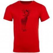 Pánské triko Alpine pro Daker červená
