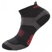 Ponožky Progress RNS 8JB Running Sox černá/šedá