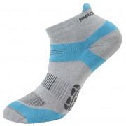 Ponožky Progress RNS 8JB Running Sox šedá/modrá