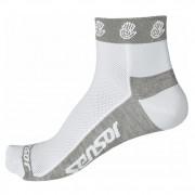 Ponožky Sensor Race Lite Ručičky bílá