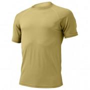 Pánské funkční triko Lasting Quido kr. r. písková