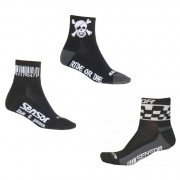Cyklistické ponožky Sensor Race-Pirate-Chess 3-pack