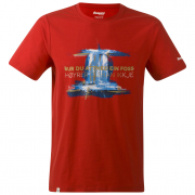 Pánské triko Bergans Foss Tee-red