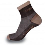 Ponožky Sherpax Olympus-hnědá