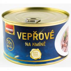 Konzerva VESEKO Vepřové na kmíně 400 g