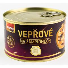 Konzerva VESEKO Vepřové na žampionech 400 g