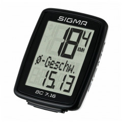 Cyklocomputer Sigma BC 7.16 drátový