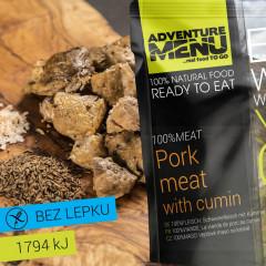 Hotové jídlo Adventure Menu 100% Vepř. maso na kmíně 200 g