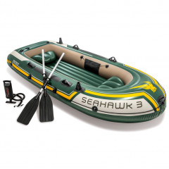 Nafukovací člun Intex Seahawk 3 Boat Set 68380NP