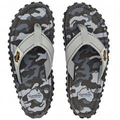 Žabky Gumbies Islander Grey Camouflage
