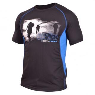 Pánské tričko Northfinder Vtacnik černá
