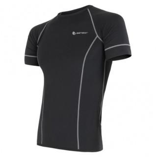 Pánské triko Sensor Coolmax fresh-barva černá