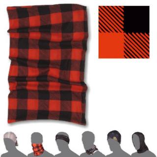 Šátek Sensor Tube Kostka červená/černá