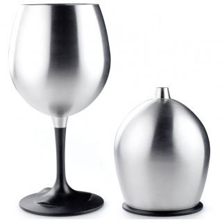 Sklenička GSI Glacier Stainless Nesting Red Wine Glass