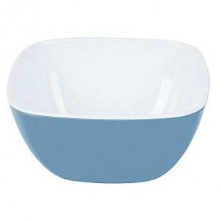 Miska Bo-Camp Bowl square melamine small 2-tone