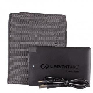 Nabíjecí peněženka Lifeventure Rfid Charger Wallet with power bank