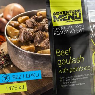Adventure Menu Hovězí guláš s bramborem