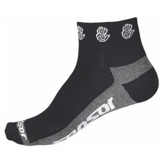 Ponožky Sensor Race Lite Ručičky černá