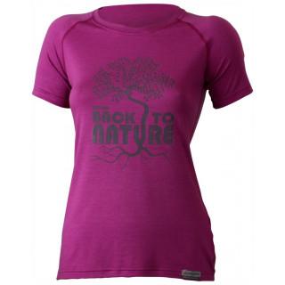 Dámské funkční triko Lasting Back růžová