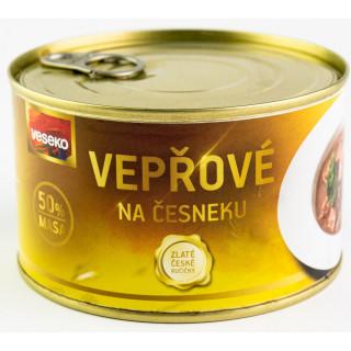 Vepřové na česneku Veseko 400 g