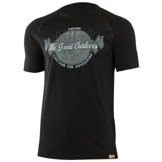 Pánské funkční triko Lasting Lucas černé