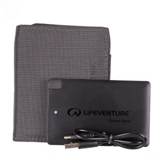 Peněženka s powerbankou Lifeventure RFiD Charger Wallet