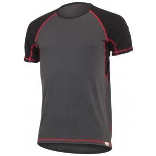 Pánské funkční triko Lasting Oto-červené prošití