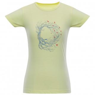 Dámské triko Alpine Pro Unega 5 žlutá
