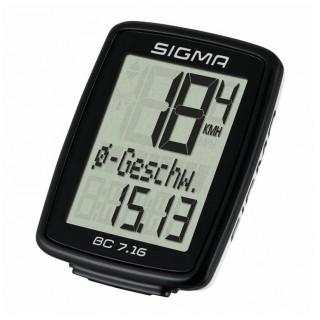 Počítač Sigma BC 7.16 drátový