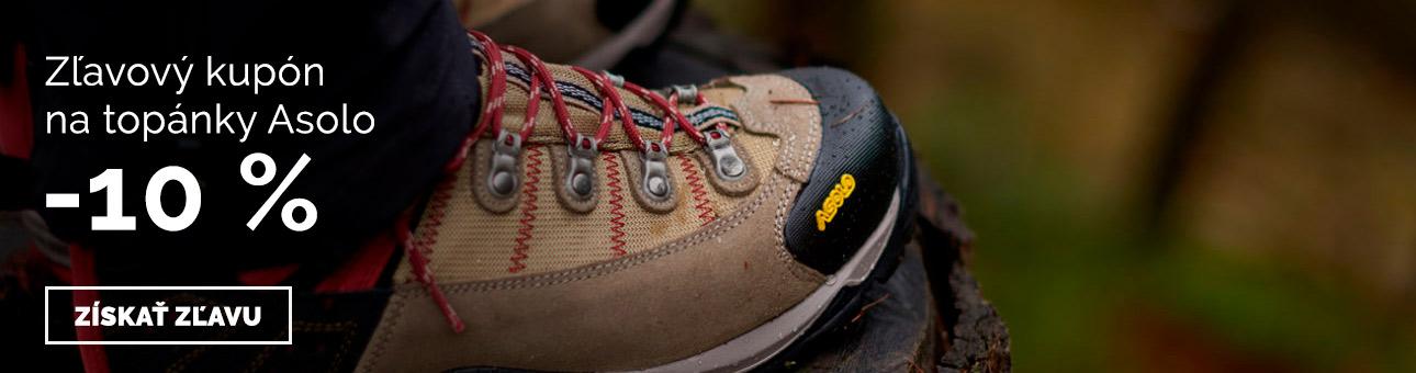 ZĽAVOVÝ KUPÓN -10 % na topánky Asolo