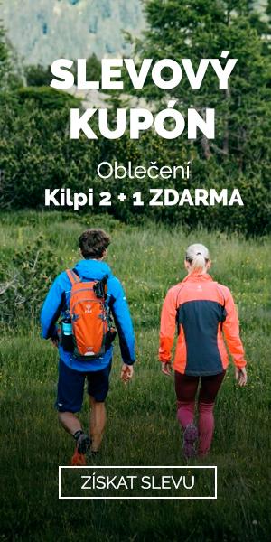 EXTRA SLEVA 2+1 na oblečení Kilpi