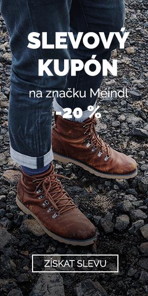 EXTRA SLEVA -20% na značku Meindl