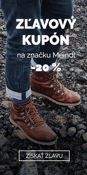 EXTRA Z'LAVA -20% na značku Meindl
