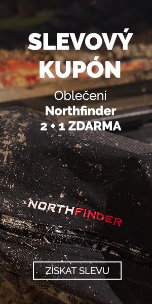 EXTRA SLEVA 2+1 na oblečení Northfinder