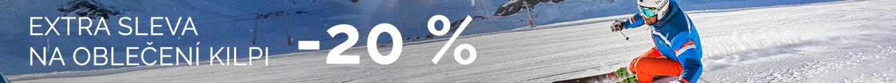 EXTRA SLEVA na oblečení KILPI -20% - zimní