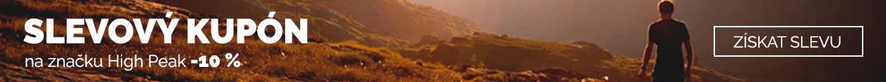 Extra sleva - Sleva 10% na značku High Peak