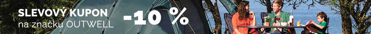 Extra sleva -10% na značku OUTWELL - léto