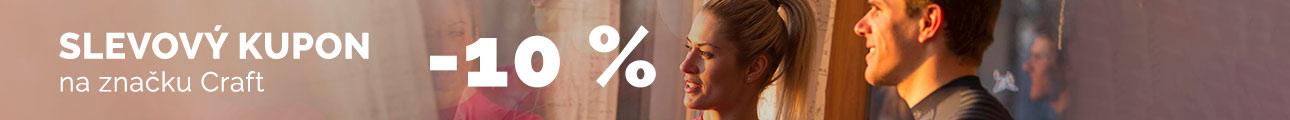 Extra sleva - 10% na značku CRAFT