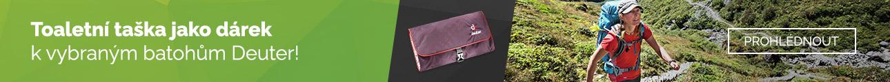 Batohy Deuter + toaletní taška jako dárek