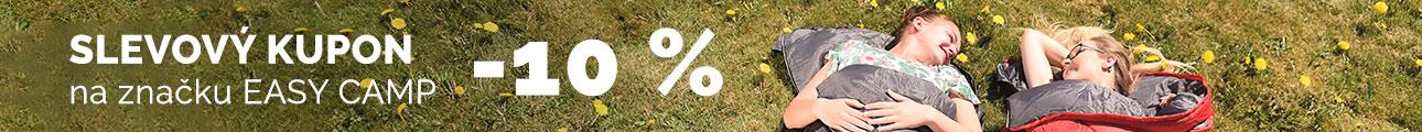 Slevový kupon -10% EASY CAMP - léto