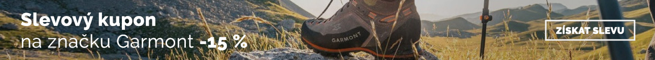 Extra sleva -15% na značku Garmont