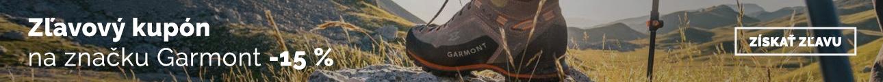 Extra zľava -15% na značku Garmont