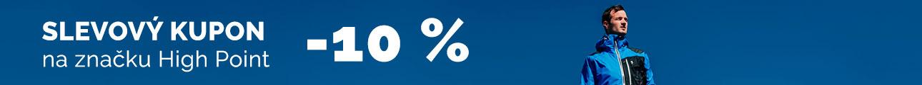 Extra sleva - Sleva 10% na značku High Point