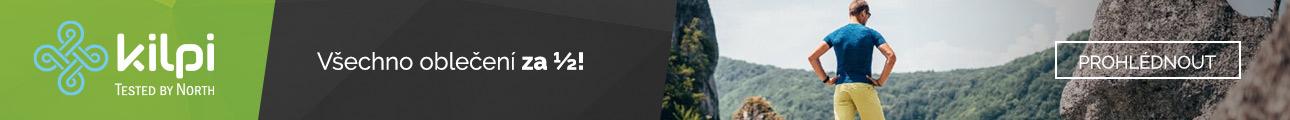 Kilpi - všechno oblečení za 1/2
