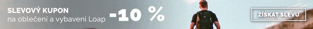 Slevový kupon - 10% na LOAP - léto