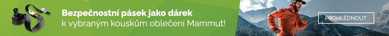 Oblečení Mammut + pásek jako dárek