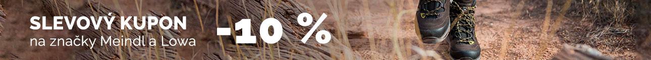 Extra sleva - Sleva 10% Meindl a Lowa